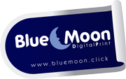 Blue Moon Digital Print