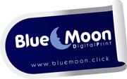 Blue Moon Digital Print