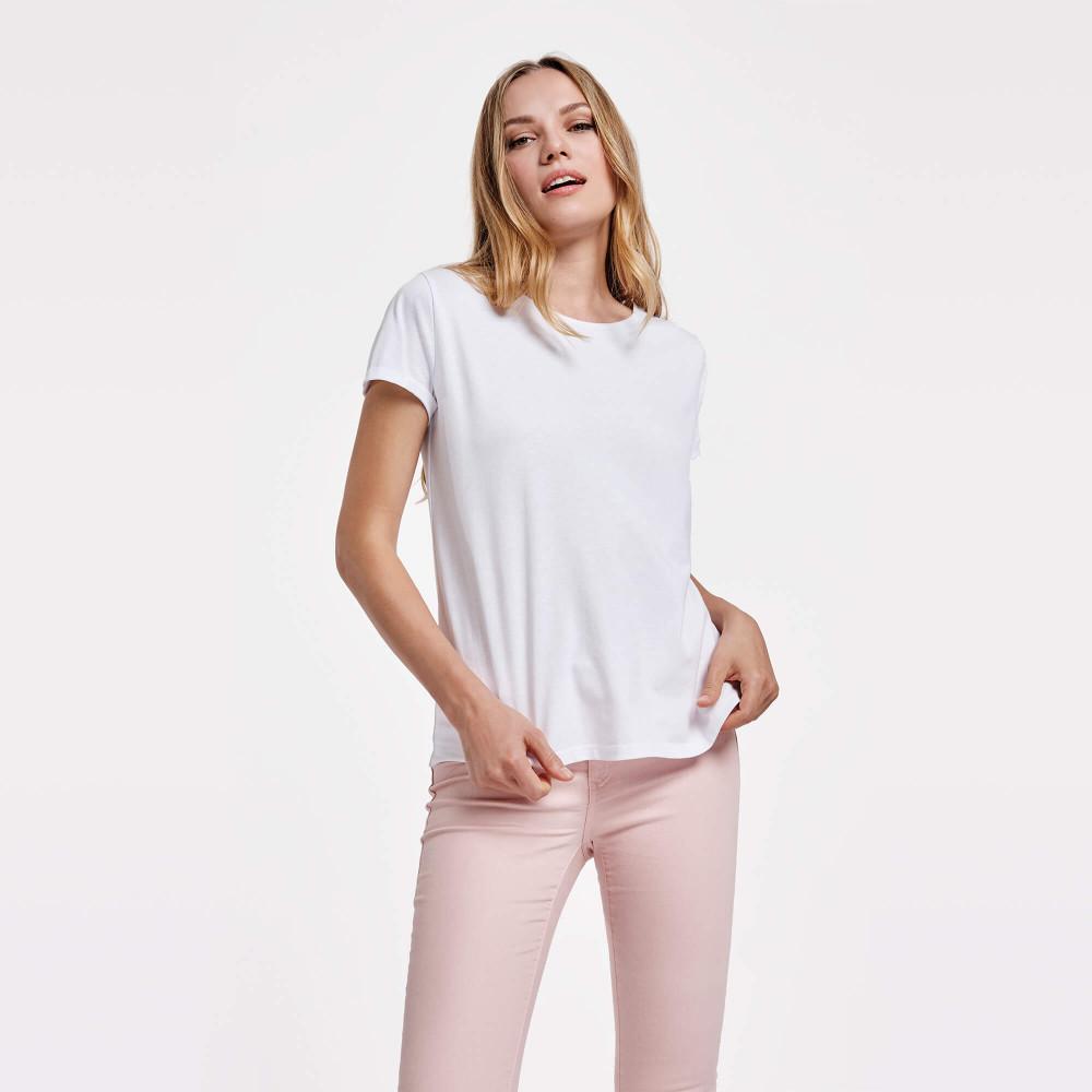 T-shirt bianca donna